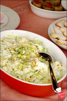 Mısırlı & Yoğurtlu Göbek Salata