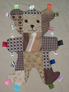 Baby Bear Buddy - it's a sensory toy for toddlers - check out Auntie Em's Quilts & Such on Facebook
