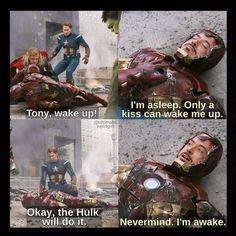 Avengers Humor, Marvel Jokes, Avengers Quotes, Avengers Cast, Funny Marvel Memes, Marvel Avengers, Hulk Funny, Stony Avengers, Avengers 2012
