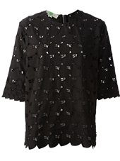 Stella McCartney - lace t-shirt