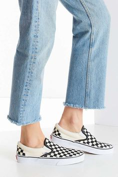 ed4d3ddb9d4 Slide View  5  Vans Checkerboard Slip-On Sneaker Vans Checkerboard Slip On