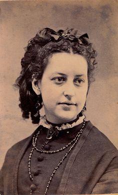 So Beautiful, Albumen Carte de Visite, Circa 1870, via Flickr.