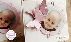 pasjonata.zaproszenia: # 16 Zaproszenia na roczek z motylkami