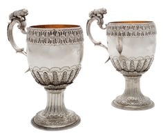 A pair of George III silver mugs, William Holmes (Grimwade, no. 3161), London, 1769 - Sotheby's