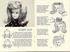 Floppy Flip, from the original 1960's hair brochure.
