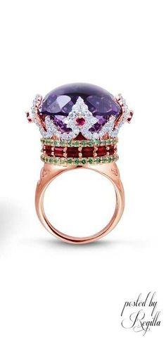 Big purple ring