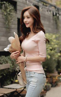 Rascal pick - Son Youn Ju - Asian Beauty - Strawberry Blonde - Busty - Long Hair - Cute and Sexy