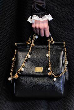 Dolce & Gabbana - Collections Fall Winter - Shows - Vogue. Dolce & Gabbana, Dali, Fashion Bags, Love Fashion, High Fashion, Custom Purses, Burberry Handbags, Little Bag, Handbags On Sale