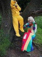 Lady Rainicorn and Jake the dog. If only lady rainicorn would die i could have jake ll to my self. Don't laugh every girl has to have a cartoon love b Jake The Dogs, Cartoons Love, Cute Cosplay, Princess Bubblegum, A Cartoon, Anime Films, Every Girl, Adventure Time, Ronald Mcdonald