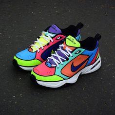 The 50 Best Nike Air Monarch Customs Custom Sneakers, Custom Shoes, Sneakers Nike, Dad Shoes, Me Too Shoes, Women's Shoes, Fashion Shoes, Mens Fashion, Nba Fashion