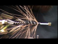 The Gold &  Brown Intruder Tube - Full Fly Tying Video