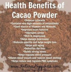 #Cacaopowderbenefits