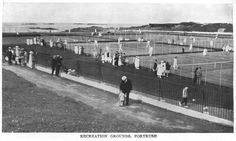 The Recreation Grounds, Ramore Head. PORTRUSH 1930's