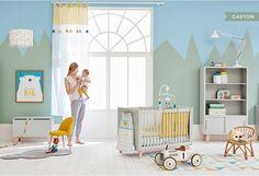 Des inspirations de chambre bébé et chambre enfant vues sur le catalogue de Maisons du Monde, des couleurs pastels, une déco vintage,...