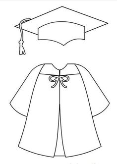 - My Website 2020 Graduation Templates, Graduation Crafts, Kindergarten Graduation, Graduation Decorations, Graduation Drawing, Preschool Crafts, Crafts For Kids, Grad Gifts, Grad Parties