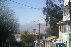 El Illimani en La Paz...something for Gipfelstuermer!