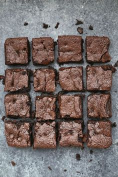 The BEST gluten free & paleo brownies! is part of Paleo brownies PERFECT Gluten Free & Paleo Brownies They're fudgy and rich, chocolatey and delicious, all without gluten, grains, or dairy! Paleo Dessert, Dessert Sans Gluten, Bon Dessert, Gluten Free Sweets, Gluten Free Baking, Healthy Desserts, Gluten Free Recipes, Dessert Recipes, Paleo Treats