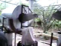 Extracción y VENTA de almidon de yuca - YouTube