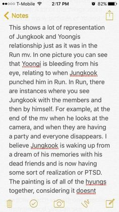 bts - wings theory! 2/3