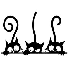 home decor Funny Cat Wall Stickers Home Decorations Washroom - BLACK - Nhen -neutral home decor Funny Cat Wall Stickers Home Decorations Washroom - BLACK - Nhen - gatitos! Más Funny Cat Cartoon Scratching Curtain Images of Peeking Cat. Wall Stickers Home, Wall Decals, Wall Art, Vinyl Decals, Wall Mural, Kids Stickers, Window Decals, Vinyl Art, Silhouette Chat