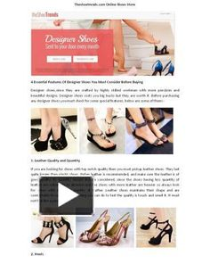#theshoetrends.com #theshoetrends  #the shoe trends  Read this jsut shared PDF of THeshoetrends at Powershow.  http://www.powershow.com/view0/829958-MDVkY/Theshoetrends_best_Quality_Footwear_powerpoint_ppt_presentation