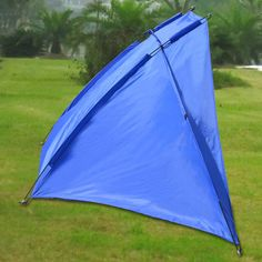4d1b9bc11461 Strong Camel Portable 2 to 3 Person Beach Shelter Sun Shade Canopy Camping  Fishing Beach Tent