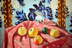 Still Life with Apples Henri Matisse