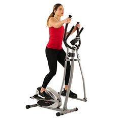 Sunny Health & Fitness Elliptical Machine Cross Trainer With 12 Level Resistance And Digital Monitor Cross Trainer Machine, Elliptical Cross Trainer, Cardiovascular Training, Cardio Equipment, Fitness Equipment, Training Equipment, Workout Machines, Exercise Machine, Elliptical Machines