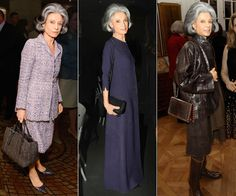 The MOST Stylish Women | Deeda Blair - The epic socialite has been defining personal style for decades. With her signature gray-streaked coif and elegant (sometimes Chanel) ensembles, Blair is a prime example of what it means to be fabulous at every age.