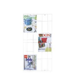 tijdschriftenrek via HEMA. Meer budget wonen? Daily Decor www.dailydecor.nl  De dagelijkse dosis wooninspiratie - Daily home decor blog  #budget #interior