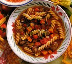 Bárányleves fusilli tésztával Fusilli, Ale, Ethnic Recipes, Food, Eten, Ales, Meals, Diet