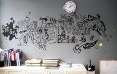 Diesel Wall Illustration