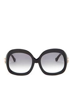Women's Plastic Sunglasses by Balenciaga on @nordstrom_rack