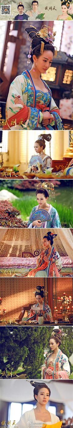 武媚娘传奇的照片 - 微相册. The Empress of China TV drama starring Fan Bing Bing, Aariff Lee, Janine Chang & Xinyu Zhang (Viann)