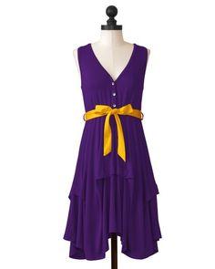 LSU Tigers | Team Flirty Dress | meesh & mia