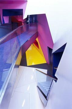 Surface Architects, Architecture & Color, Birkbeck Centre for Film & Visual Media Art Et Architecture, Futuristic Architecture, Amazing Architecture, Contemporary Architecture, Architecture Details, Geometry Architecture, Seattle Architecture, Enterprise Architecture, Futuristic Interior