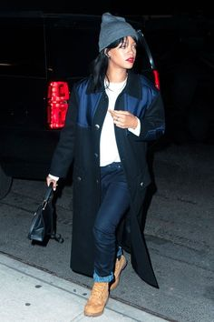 How to copy Rihanna's normcore street style