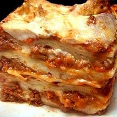 Slow Cooker Lasagna (Get Crocked) | MyRecipes.com... I actually made this and, while it was an absolute pain to put together, it was DELICIOUS!