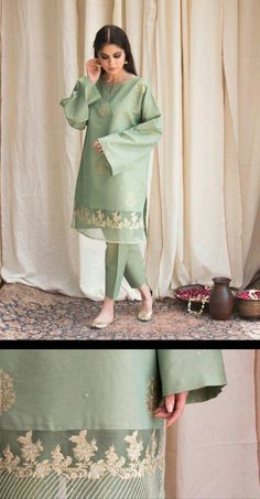 New Image : Pakistani fashion casual Beautiful Pakistani Dresses, Pakistani Party Wear Dresses, Pakistani Wedding Outfits, Pakistani Dress Design, Pakistani Bridal, Stylish Dresses For Girls, Stylish Dress Designs, Casual Dresses, Casual Wear