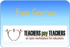 FREE Games on TpT.