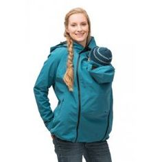 """<p><strong>Mamalila Allweather Jacket Softshell - NEW STYLE WITH BABY HEAD SUPPORT</strong></p> <p>Honest-to-goodness the <strong>BEST</strong> babywearing coats we've ever used<i class=""""fa fa-heart"""" aria-hidden=""""true"""" style=""""color:#DA6B68;""""></i></strong></p> <p>Carry your baby on your <strong>front & back! <i class=""""fa ..."""