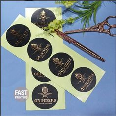 [ Stickers For Your Produts ] Black x Copper Foil = #Chic & #Sophisticated #printing #print #businesscards #stickers #labels #design #advertising #marketing #invitations #wedding #weddinginvitation #paper #packaging #package #packagingdesign #packagedesign #fastprinting #surryhills #sydney #melbourne #newyork #london #graphicdesign #graphicdesigner #graphics #design