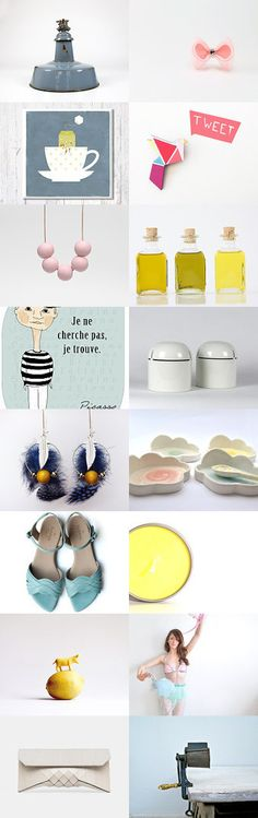 Summer mixture by Maria Fiter on Etsy--Pinned with TreasuryPin.com