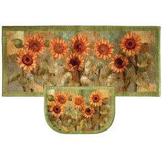 Mohawk Home Sunflower Kitchen Rug