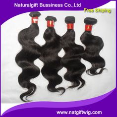 """Competive price 16""""-30"""" 6a Brazilian virgin hair body wave100% human hair natural color full lace with bangs hair extension  DHL $153.60 - 245.88"""