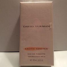 David Yurman exotic essence eau de toilette 3.4 fl David Yurman Vaporisateur Spray David Yurman Other