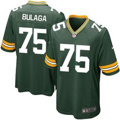 Nike Limited Bryan Bulaga Green Youth Jersey - Green Bay Packers #75 NFL Home