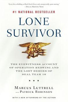 Lone Survivor Hard Back- Autographed Copy