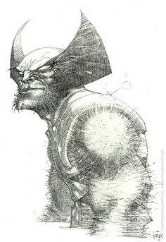 Wolverine by Roger Cruz ✤ || CHARACTER DESIGN REFERENCES | キャラクターデザイン | çizgi film • Find more at https://www.facebook.com/CharacterDesignReferences & http://www.pinterest.com/characterdesigh if you're looking for: bandes dessinées, dessin animé #animation #banda #desenhada #toons #manga #BD #historieta #sketch #how #to #draw #strip #fumetto #settei #fumetti #manhwa #anime #cartoni #animati #comics #cartoon || ✤