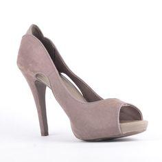 Bershka Pantofi Bershka gri - http://outlet-mall.net/outlet/outlet-incaltaminte-femei/bershka-pantofi-bershka-gri/